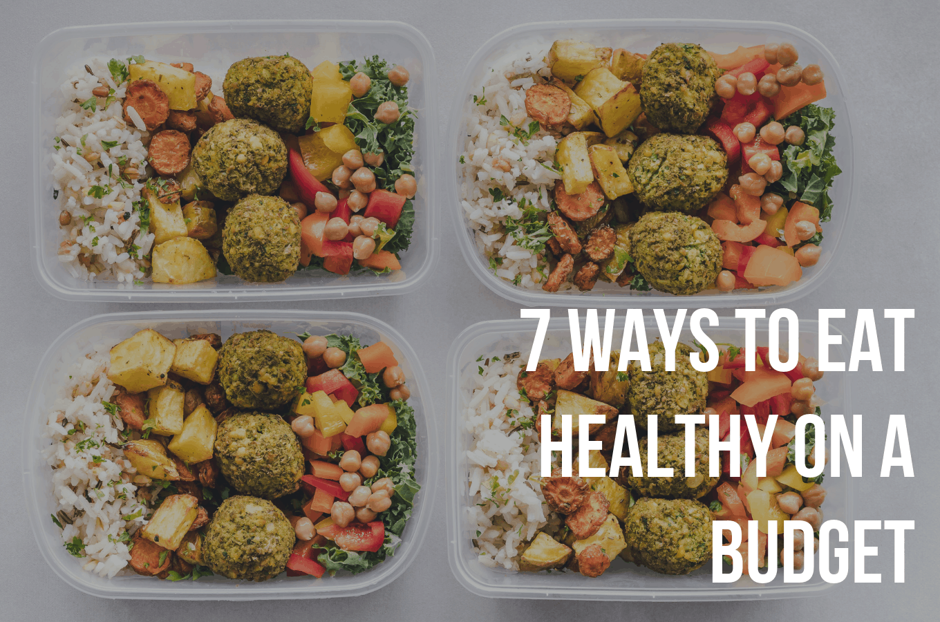 Ways to eat healthy on a low budget