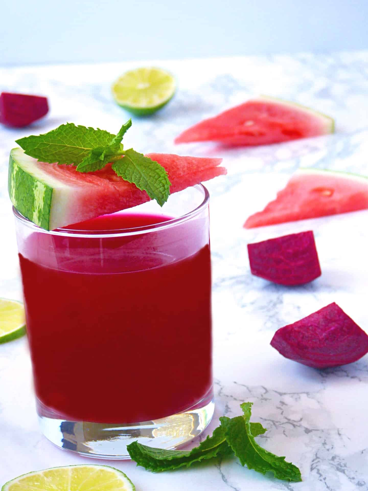 Watermelon Beet Energy Juice