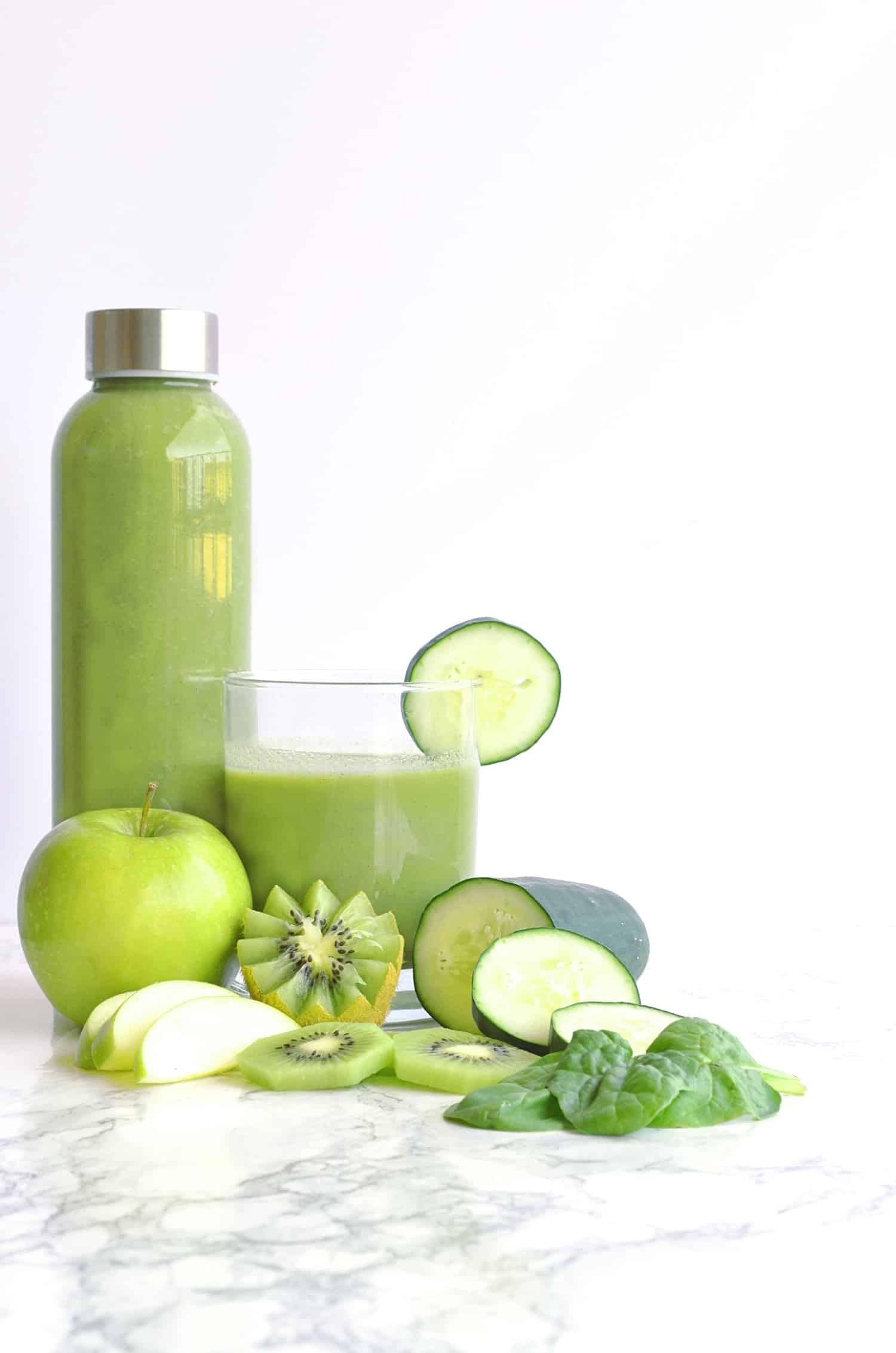 Spinach apple smoothie
