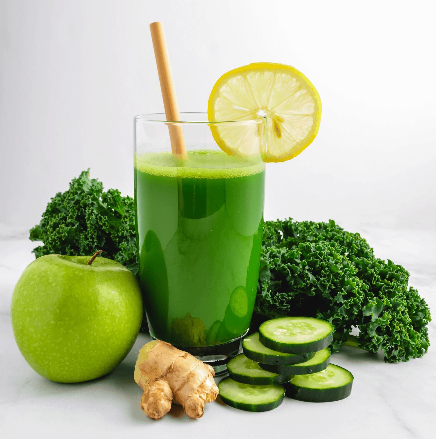 green juice blender recipe