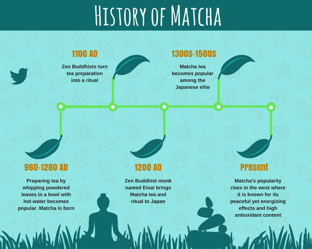 History of Matcha Tea Powder