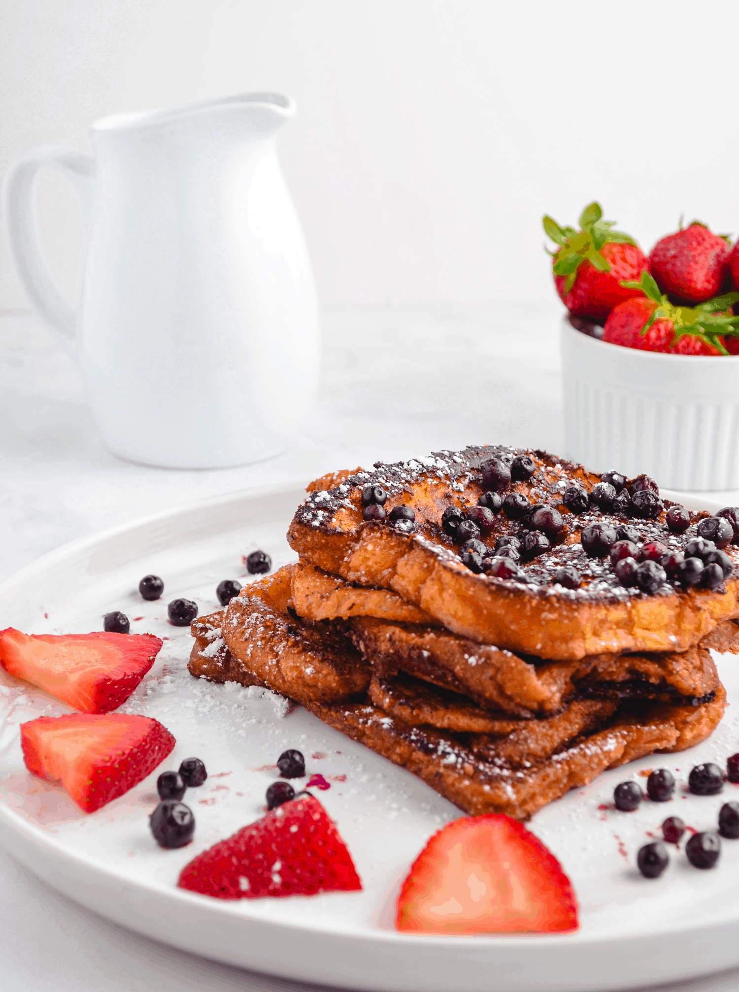 Vegan coconut milk french toast
